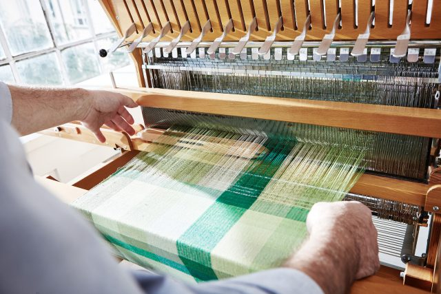 PROFLAX test webstuhl weaving loom