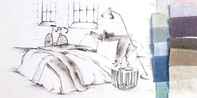 PROFLAX basic essentials head bed linen bettwaesche leinen linnen