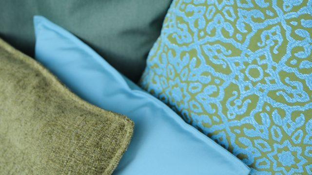 PROFLAX FS17 Palm Bay cushion close up