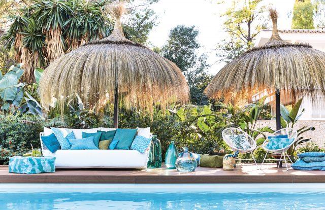 PROFLAX FS17 Palm Bay pillow kissen cushion