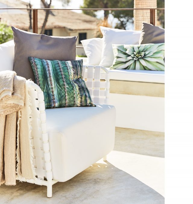PROFLAX FS17 Palm Bay cushion plaid